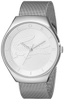 Lacoste Women's 2000764 Valencia Silver-Tone Stainless Steel Watch
