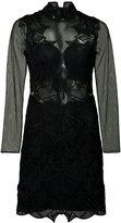 Jonathan Simkhai longsleeved dress - women - Polyester/Spandex/Elastane/Silk - 0