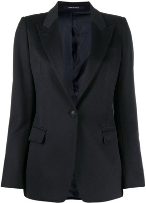 Tagliatore Long-Sleeve Blazer Jacket