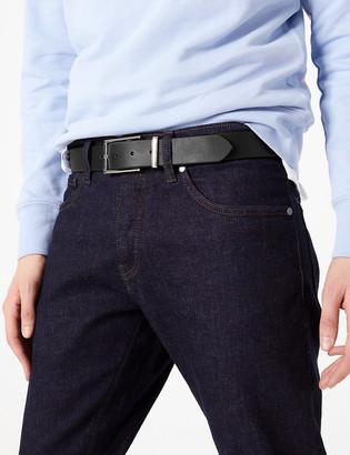 Marks and Spencer Black Leather Belt