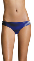 La Perla Striped Front Brazilian Bikini Bottom