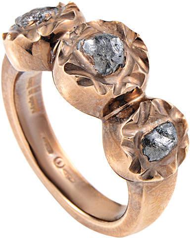 Damiani 18K Rose Gold & Rhodium 1.70 Ct. Tw. Diamond Ring