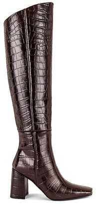 Reike Nen Pointed Square Long Boots