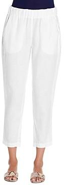 Michael Stars Rima Cropped Linen Pants