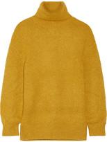 ADAM by Adam Lippes Stretch-cashmere Turtleneck Sweater - Saffron