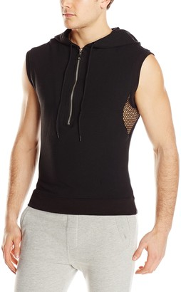 Sauvage Men's French Terry Sleeveless Hoodie