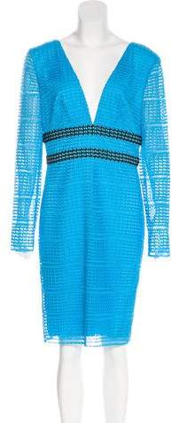Diane von Furstenberg 2017 Macramé Dress w/ Tags