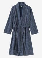 Toast Sashiko Print Cotton Gown