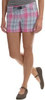Columbia Cross On Over II Plaid Shorts - UPF 50, Built-In Belt (For Women)