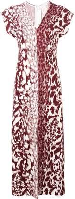 Victoria Beckham long fitted dress