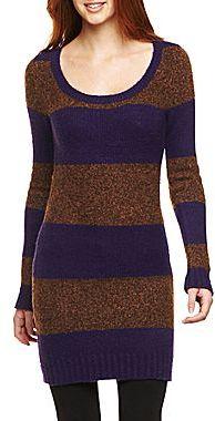 Arizona Scoop-Neck Sweater Dress
