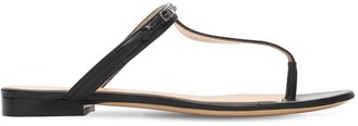 Givenchy 10mm Leather Thong Sandals