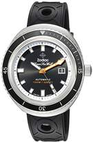 Zodiac Men's 'Super Seawolf 68 Extreme' Swiss Automatic Stainless Steel and Rubber Casual Watch
