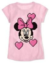 Minnie Mouse Girls' T-Shirt Pink