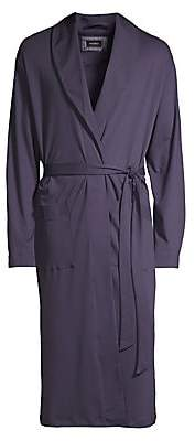 Hanro Men's Night And Day Long Sleeve Robe