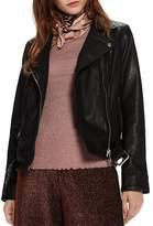 Scotch & Soda Maison Scotch Leather Moto Jacket