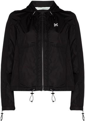 Off-White Hooded Windbreaker Jacket