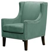 Threshold Jackson Wingback Chair - Velvet Teal