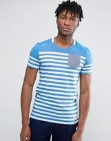 Jack and Jones Striped Pocket T-Shirt