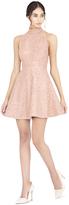 Alice + Olivia Hollie Embellished Racerback Short Gown