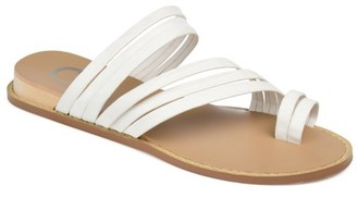 Brinley Co. Womens Multi-strap Wedge Sandal