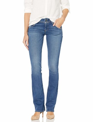 Hudson Women's Beth Mid Rise Baby Bootcut Jeans