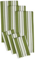 Herringbone Dish Towel and Dish Cloth Set (6 PC)