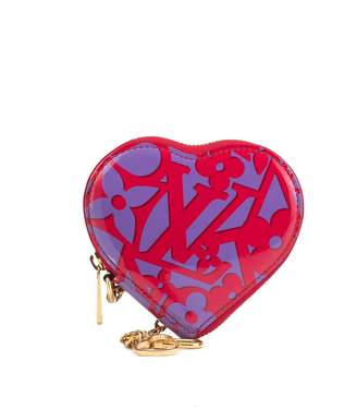 Louis Vuitton Pre-Owned monogram heart coin case