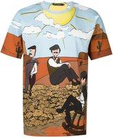 Dolce & Gabbana printed T-shirt - men - Cotton - 48