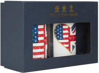 Halcyon Days Special Relationship Flag Mug Set
