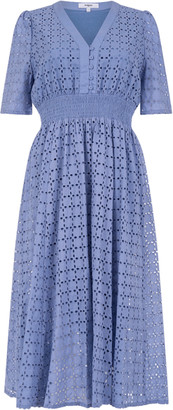 Suncoo Cabourg Blue Jeans Dress - Size 1 UK8