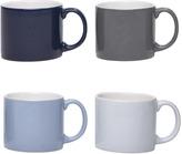 Houseology Jansen + co My Mug Medium - Sky Set Of 4