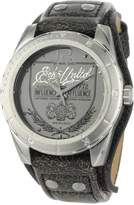 Ecko Unlimited The Daily Charcoal Dial Men's watch #E11518G1