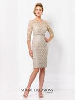 Social Occasions by Mon Cheri - 115866SL Dress
