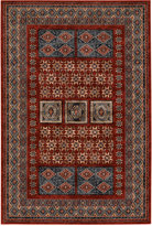 "Couristan Area Rug, Timeless Treasures Royal Kazak Burgundy 6'6"" x 9'10"""