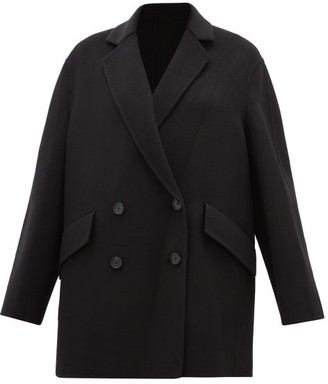Joseph Milburn Wool And Cashmere-blend Coat - Womens - Black
