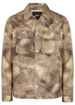Blood Brother Quarry Camouflage-print Canvas Jacket