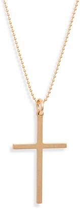 Nashelle 14K-Gold Fill Cross Necklace