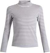Golden Goose Deluxe Brand Iman striped cotton-blend jersey T-shirt