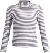 Golden Goose Iman striped cotton-blend jersey T-shirt