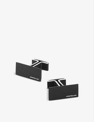 Montblanc M pvd stainless steel cufflinks
