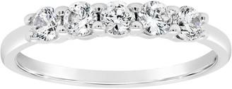 Affinity Diamond Jewelry Affinity 1/2 cttw Diamond 5-Stone Band Ring, 14K Gold