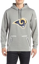 Nike Men's Vapor Speed Los Angeles Rams Hoodie