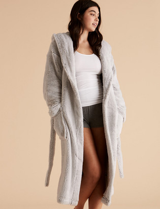 Marks and Spencer Hooded Dressing Gown