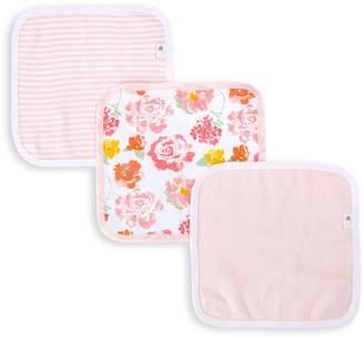 Burt's Bees Rosy Spring Organic Baby Washcloths 3 Pack