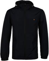 Farah Newbern Black Hooded Jacket