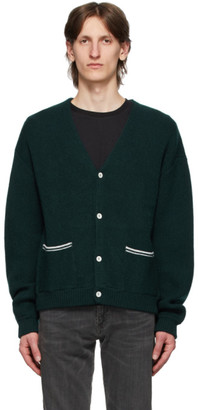 Second/Layer Green Slim Cardigan