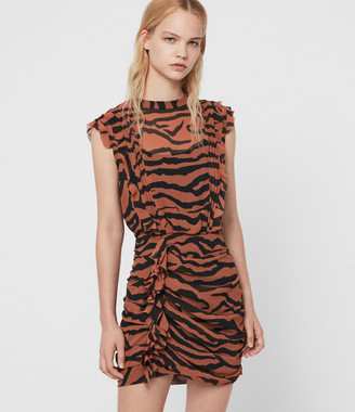 AllSaints Hali Zephyr Dress