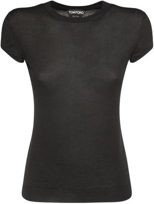 Tom Ford Cashmere & Silk Knit T-shirt