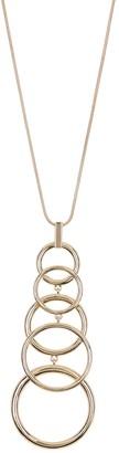 trina Trina Turk Multi Ring Pendant Necklace